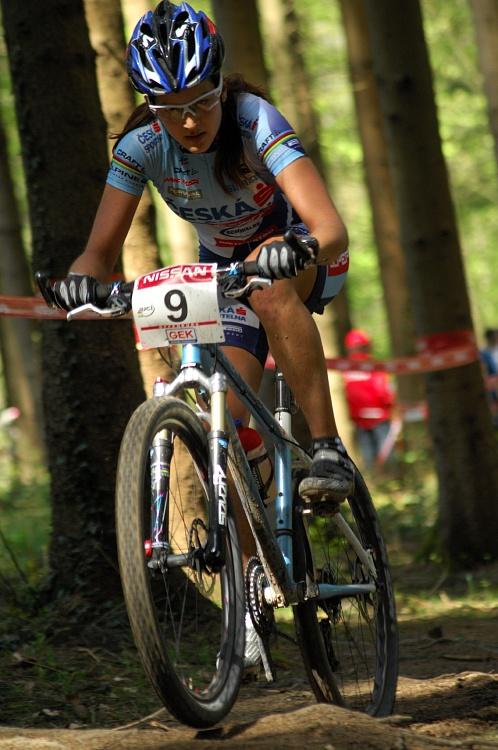SP XC #2 2008 Offenburg - Tereza Huříková