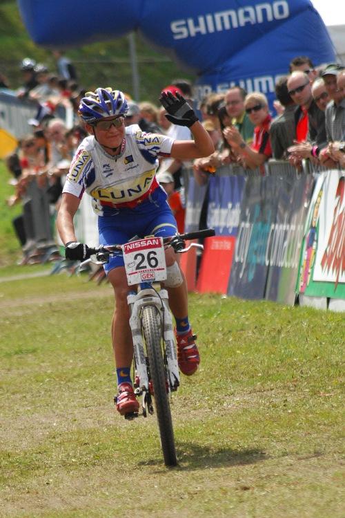 SP XC #2 2008 Offenburg - Katka Nash Hanušová šestadvacátá