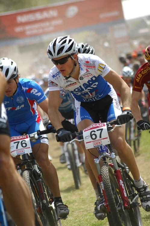 SP XC #2 2008 Offenburg - Jan Škarnitzl