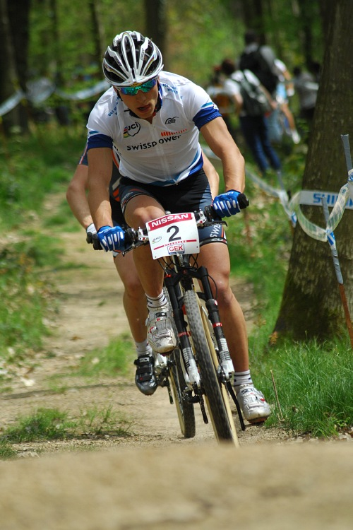 SP XC #2 2008 Offenburg - Nino Schurter v prvním kole první