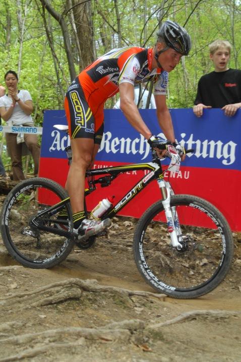 SP XC #2 2008 Offenburg - Filip Eberl jediný (z těch kdo mohl) zvolil celopéro