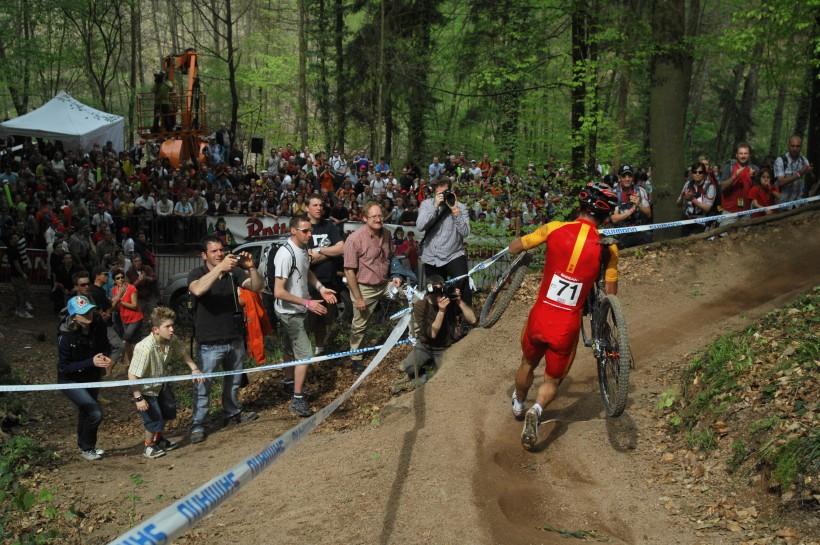 SP XC #2 2008 Offenburg - Číňan s problémem