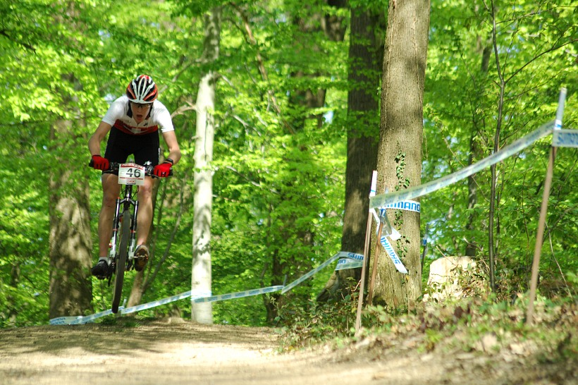 SP XC #2 2008 Offenburg - junioři