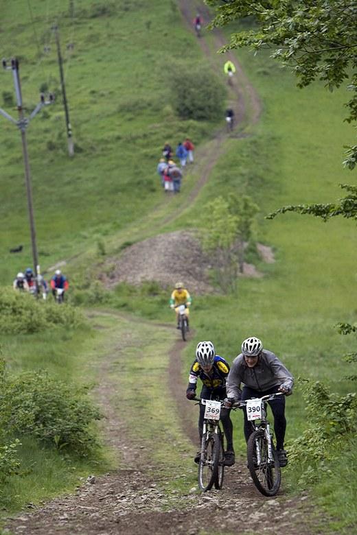 Beskidy MTB Trophy - Istebna, 3 etapa 24.5. 2008, foto: Pawel/Magazin Rowerowy