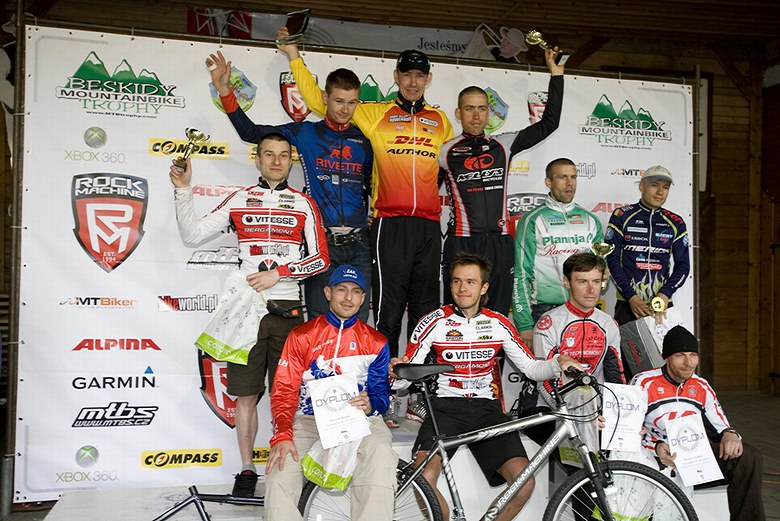 Beskidy MTB Trophy - Istebna, 4. etapa 25.5. 2008 - the best of the bests, foto: Pawel/Magazin Rowerowy