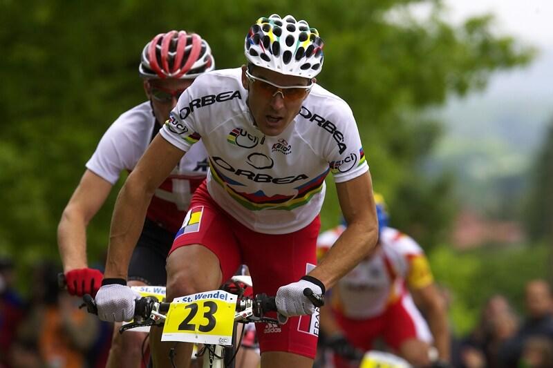 Mistrovství Evropy - 18.5.2008, St. Wendel/GER - Julien Absalon trpěl