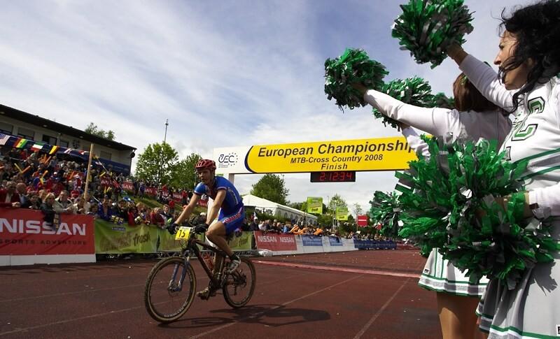 Mistrovství Evropy - 18.5.2008, St. Wendel/GER - Jaroslav Kulhaváý dojíždí do cíle