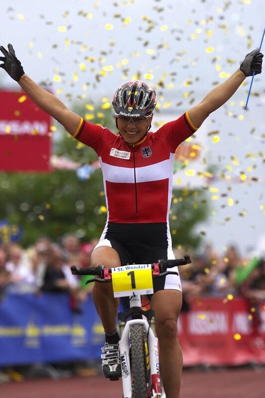 Mistrovství Evropy - 18.5.2008, St. Wendel/GER - Sabine Spitz vítězí