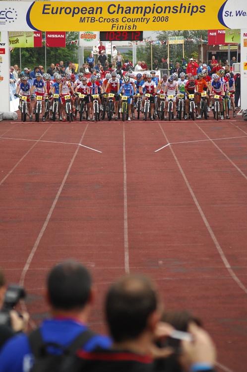 ME XC 2008 St. Wendel - ženy Elite: start