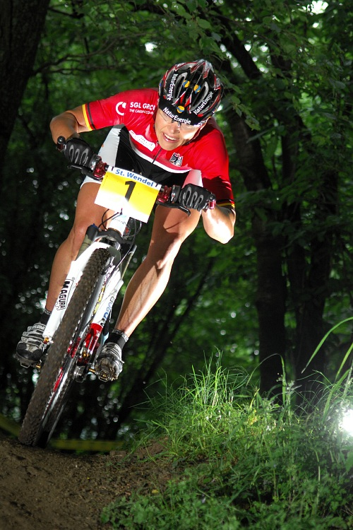 ME XC 2008 St. Wendel - �eny Elite: Sabine Spitz