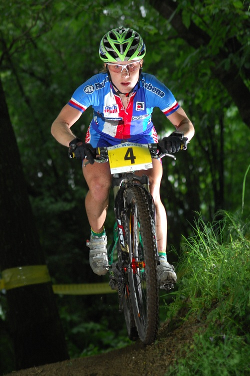 ME XC 2008 St. Wendel - �eny Elite: Pavla Havl�kov�