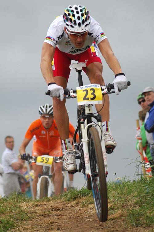 ME XC 2008 St. Wendel - muži Elite: Julien Absalon