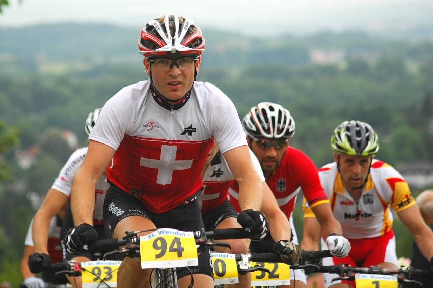ME XC 2008 St. Wendel - muži Elite: Vedoucí skupinka ve třetím kole
