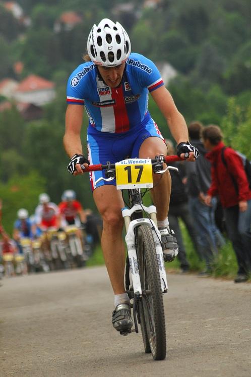 ME XC 2008 St. Wendel - muži Elite: Milan Spěšný osamocen