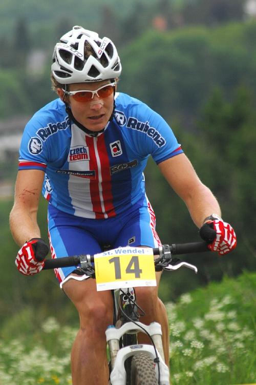 ME XC 2008 St. Wendel - muži Elite: Kristián Hynek
