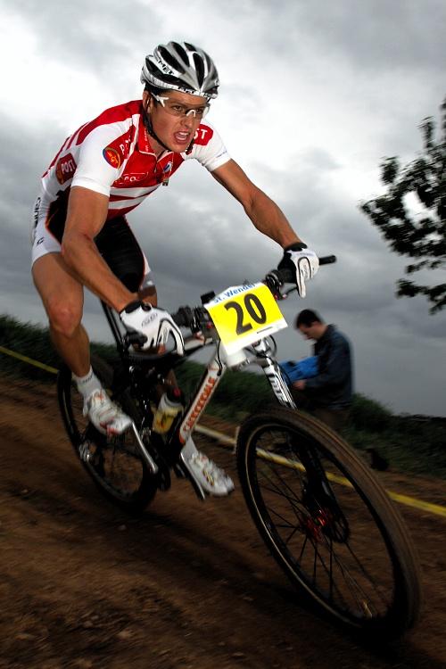 ME XC 2008 St. Wendel - muži Elite: Jakob Fuglsang