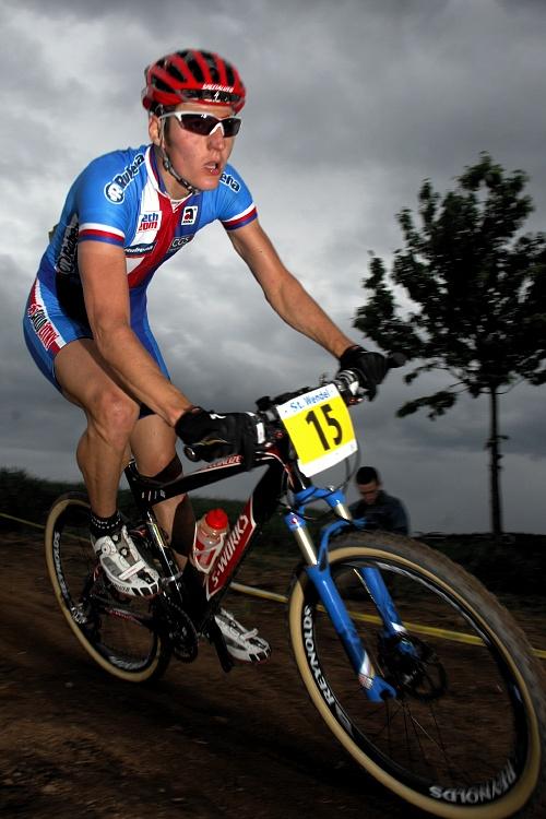ME XC 2008 St. Wendel - mu�i Elite: Jaroslav Kulhav�