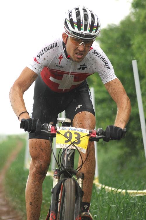 ME XC 2008 St. Wendel - muži Elite: Christoph Sauser