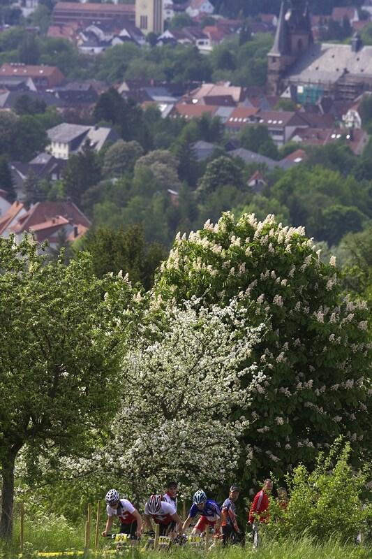 Mistrovstv� Evropy - 17.5.2008, St. Wendel/GER - Schurter, Fluckiger a Tempier