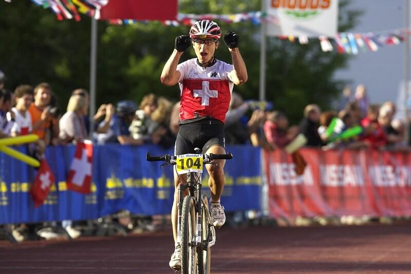 Mistrovstv� Evropy - 17.5.2008, St. Wendel/GER - Nino Schurter obh�jil evropsk� titul