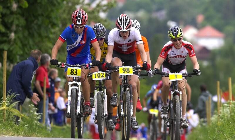 Mistrovství Evropy - 17.5.2008, St. Wendel/GER - čelo juniorského závodu