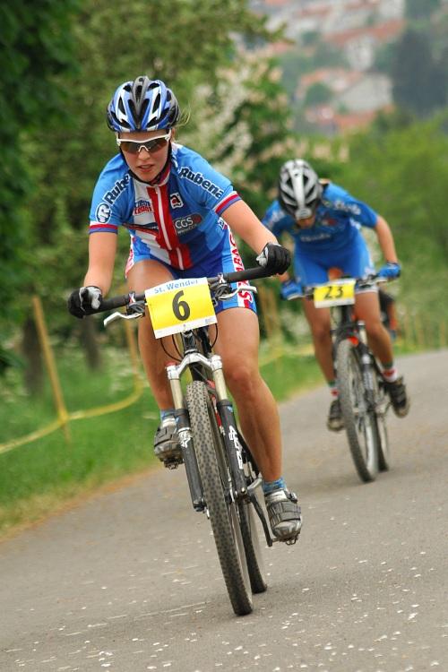 ME XC 2008, St. Wendel - juniorky: Jana Valešová