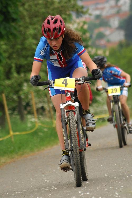 ME XC 2008, St. Wendel - juniorky: Markéta Lorenzová
