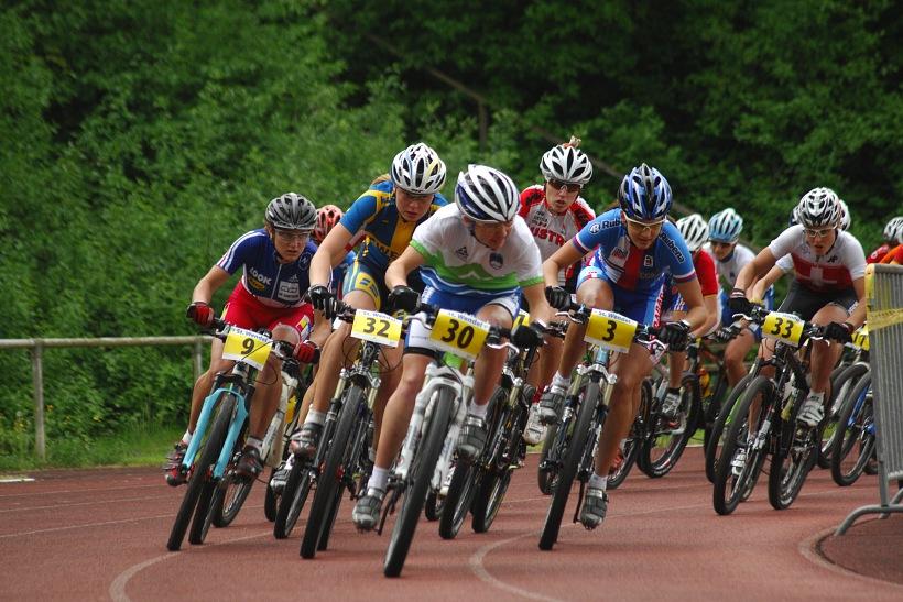 ME XC 2008, St. Wendel - ženy U23: start