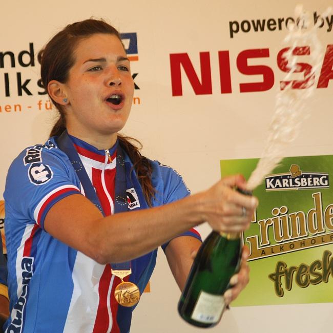 ME XC 2008, St. Wendel - ženy U23: Huříková slaví bronz