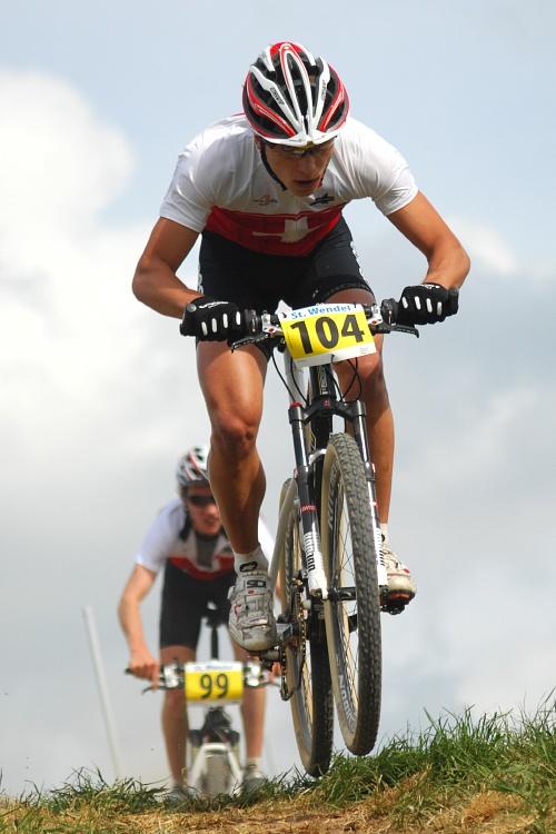ME XC 2008, St. Wendel - muži U23: Nino Schurter