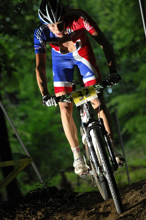 ME XC 2008, St. Wendel - muži U23: Ian Bibby