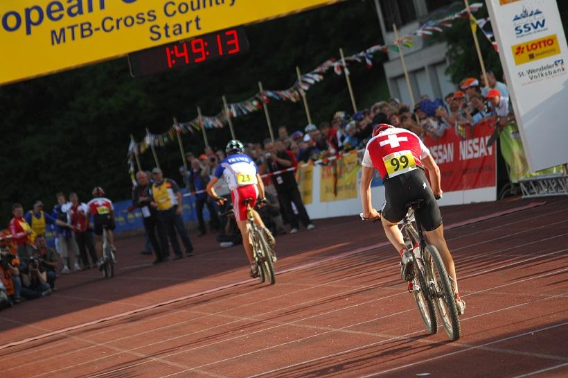 ME XC 2008, St. Wendel - muži U23: rozdíl mezi zlatem a bronzem