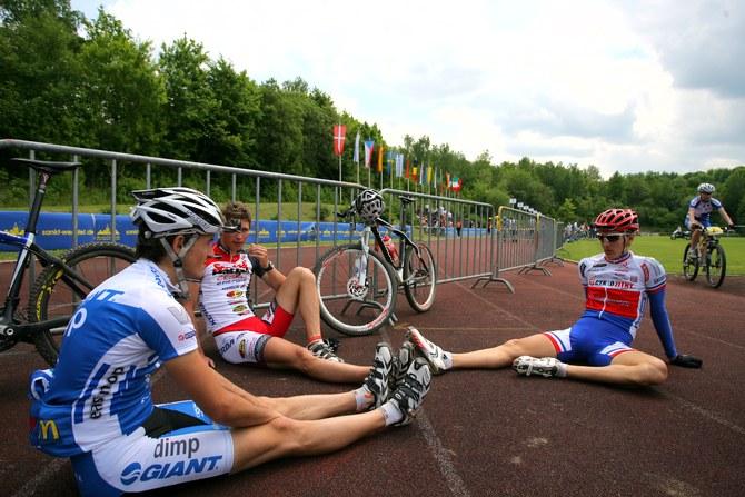 Mistrovství Evropy XC - štafety, 16.5.2008 St. Wendel/GER - Češi štafetám jen přihlíželi