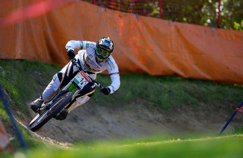SP DH #1 Maribor 2008 Sam Hill