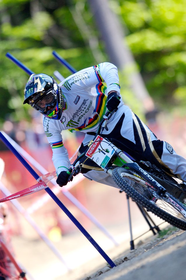 SP DH #1 Maribor 2008 Sam Hill