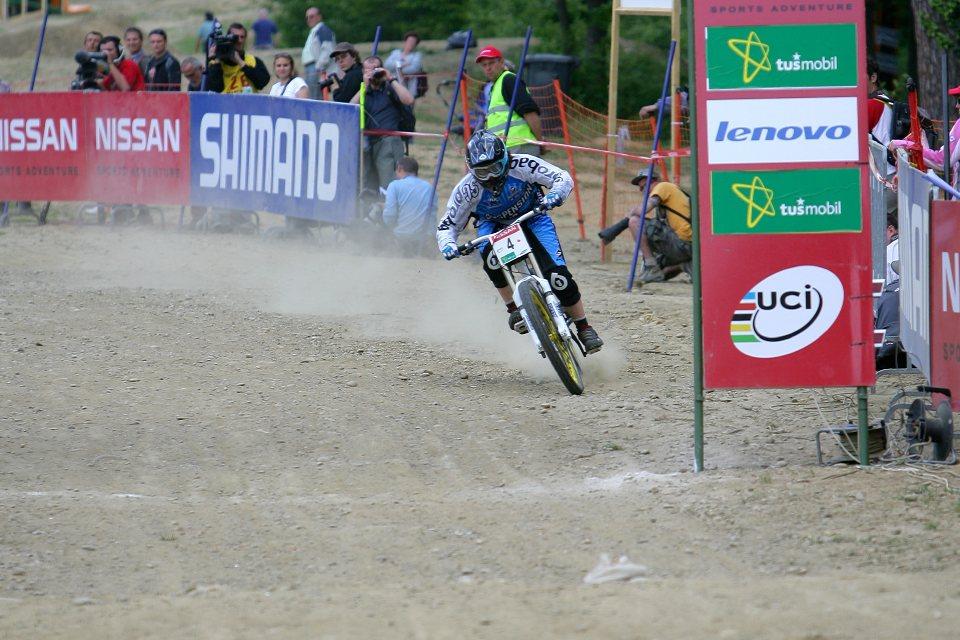 SP DH #1 Maribor 2008 Emmeline Ragot