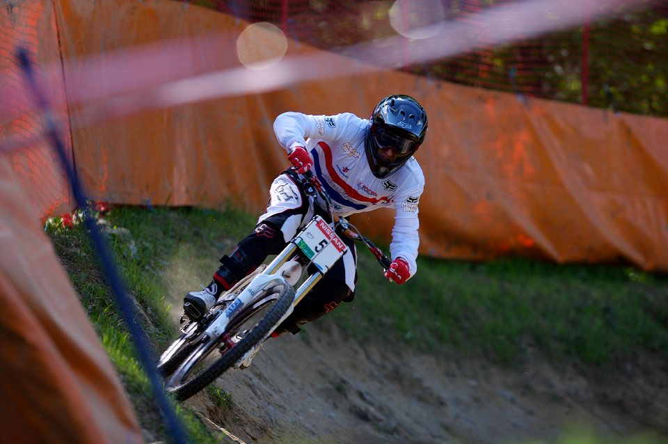 SP DH #1 Maribor 2008 Marc Beaumont