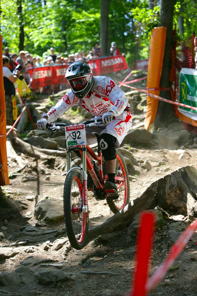 SP DH #1 Maribor 2008 Remy Charrier