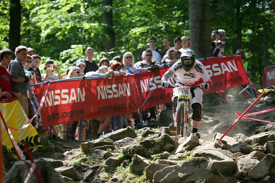 SP DH #1 Maribor 2008 Richard Cuninghame