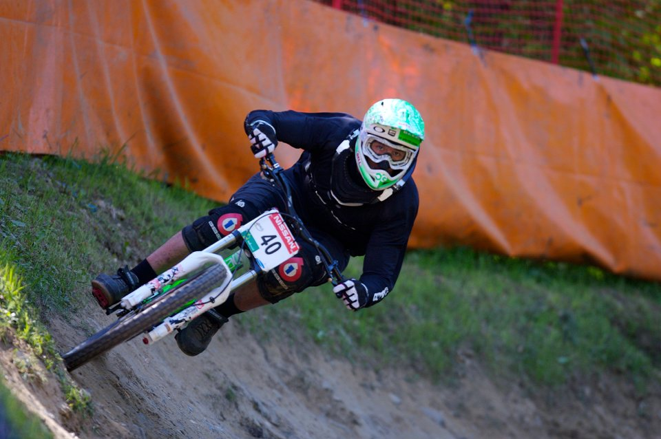 SP DH #1 Maribor 2008 Cedric Gracia