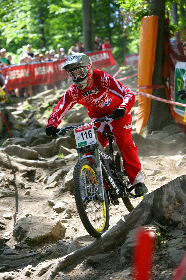 SP DH #1 Maribor 2008 Ralph Jones