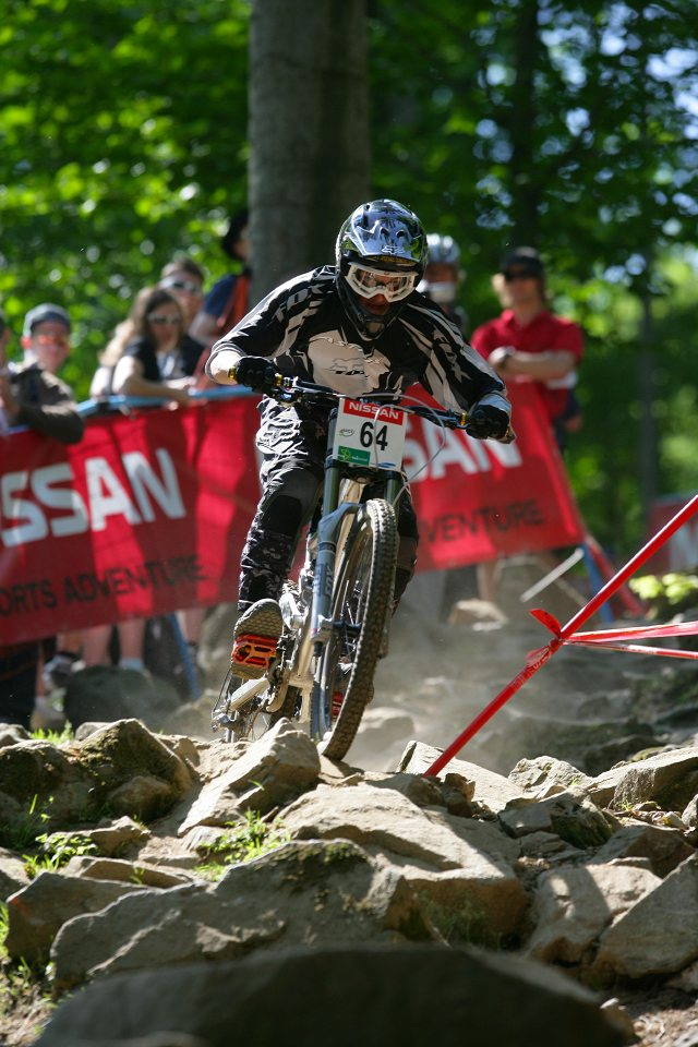 SP DH #1 Maribor 2008 Scott Mears