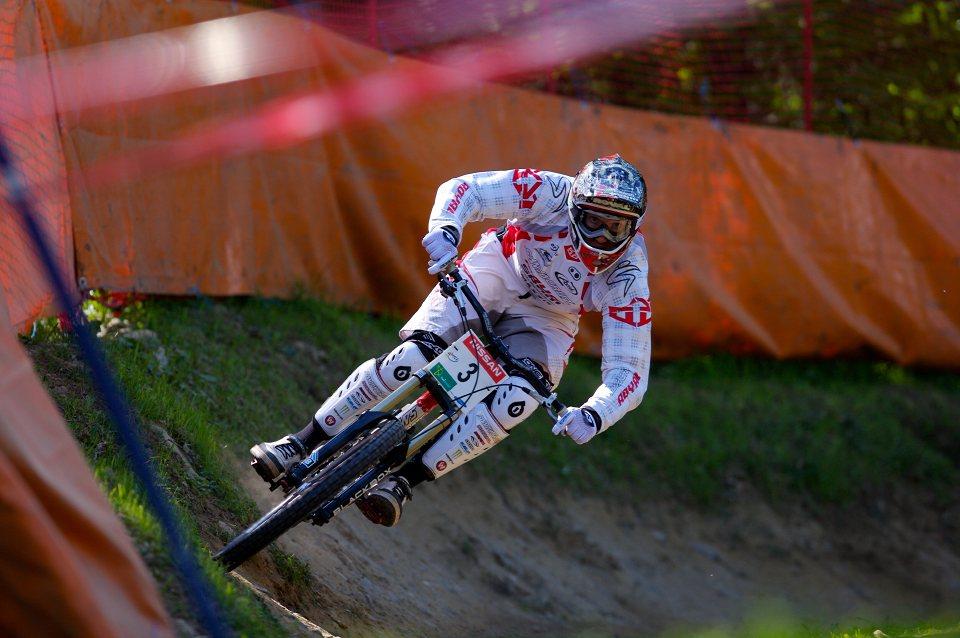 SP DH #1 Maribor 2008 Steve Peat
