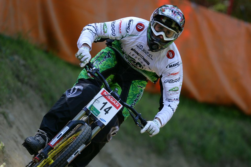 SP DH #1 Maribor 2008 Fabien Pedemanaud