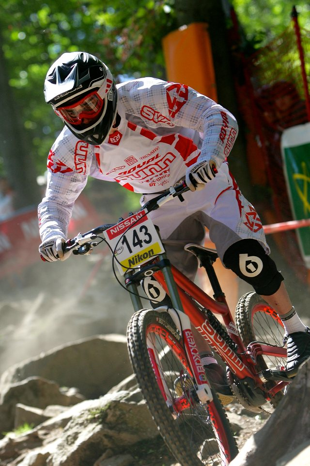 SP DH #1 Maribor 2008 Maxime Remy