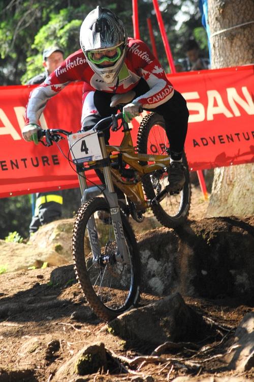 MS MTB 2008 Val di Sole - DH junio�i & juniorky