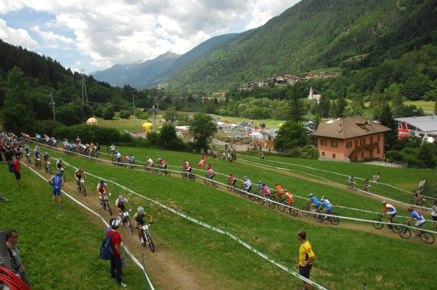 MS 2008 Val di Sole - muži U23: start