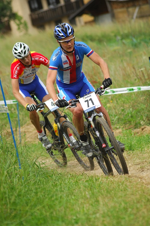 MS 2008 Val di Sole - muži U23: Josef Kamler