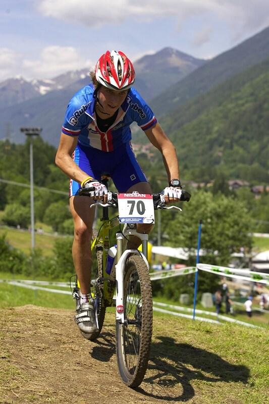 UCI MTB Wolrd Championship 2008 - Val di Sole/ITA - 19.6. - Ondřej Cink