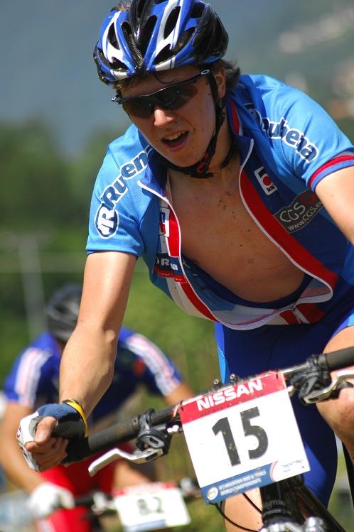 MS MTB 08 Val di Sole - XC junioři: Jakub Magnusek ve druhém kole